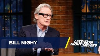 Download Bill Nighy Dishes on the Love Actually Reunion Video