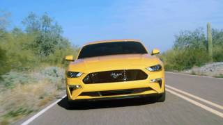 Download New 2018 Ford Mustang Running Footage Video