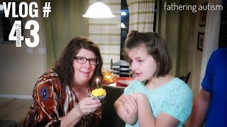 Download Autistic Artist | Thank You For Caring For Her | Fathering Autism Vlog Video