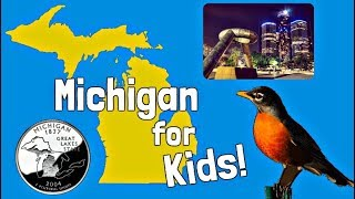 Download Michigan for Kids | US States Learning Video Video