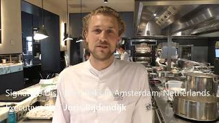 Download Joris Bijdendijk prepares one of his best dishes at RIJKS Video