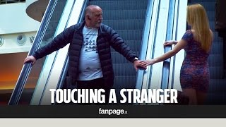 Download What happens when you touch a stranger on the escalator? Video