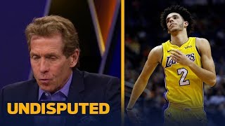 Download Skip Bayless reacts to Luke Walton benching Lonzo Ball against the Suns | UNDISPUTED Video