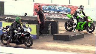 Download Street bikes racing- R1 vs Hayabusa,Ninja vs CBR Hayabusa vs Kawasaki and more Video