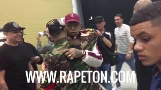 Download La muestra de respeto entre Daddy Yankee y Ñengo Flow Video