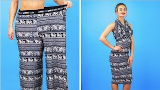 Download 8 BRILLIANT CLOTHES HACKS FOR GIRLS || Cool DIY Ideas Video