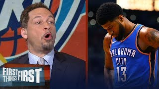 Download Chris Broussard on Paul George leaving OKC for Philly after Game 4 loss to Jazz   FIRST THINGS FIRST Video