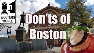Download Visit Boston - The DONTS of Visiting Boston Video
