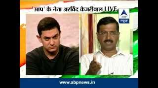 Download Asar: Aamir Khan in discussion with Arvind Kejriwal Video