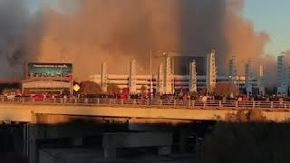Download Atlanta's Georgia Dome Destroyed in Controlled Implosion Video