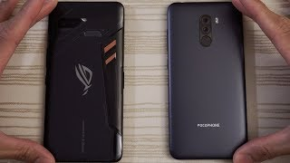 Download Asus ROG Phone vs Pocophone F1 - Speed Test! Video