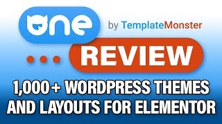 Download One By Template Monster Review: +1000 Elementor Wordpress Themes, Layouts, And Plugins?! Video