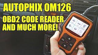 Download Autophix OM126 OBD2 Scanner Reader Review Video