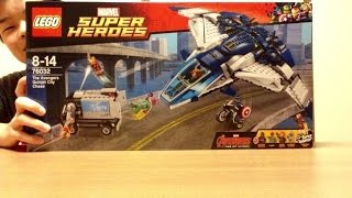 Download LEGO 76032 The Avengers Quinjet City Chase TAIKI Video