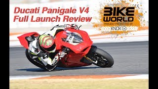 Download Ducati Panigale V4 Full Launch Review Video