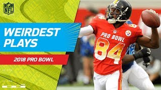 Download Weirdest Plays of the Game!   NFC vs. AFC   2018 NFL Pro Bowl HLs Video