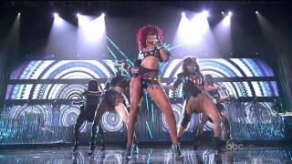 Download Rihanna - What's My Name + Only Girl (In The World) (American Music Awards 2010) HD 720 Video