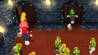 Download Mario Party 9 - Minigames - Mario vs Peach vs Daisy vs Luigi Video