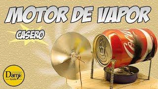 Download DIY   MOTOR DE VAPOR CASERO Video