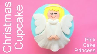 Download Christmas Cupcakes - How to Make an Angel Cupcake by Pink Cake Princess Video