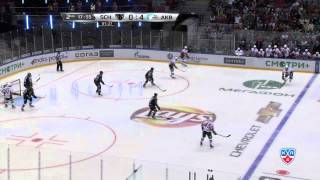 Download Классный сэйв Гаврилова / Gavrilov saves it with his glove Video