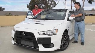 Download 2015 Mitsubishi Lancer Evolution X Final Edition Test Drive Video Review Video