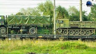 Download Tren CFR MARFA cu Echipament Militar/with Military Equipment Gara Brasov Station - 08 September 2016 Video