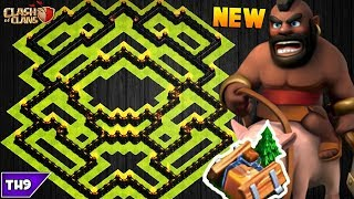 Download NEW TOWN HALL 8 FARMING/TROPHY BASE 2017! TH8 HYBRID BASE FT. SHRINK TRAP!! - CLASH OF CLANS(COC) Video