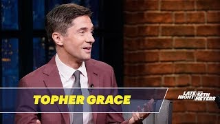 Download Topher Grace on Playing David Duke in BlacKkKlansman Video