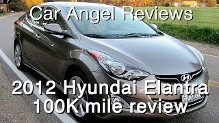 Download 2012 Hyundai Elantra 100k mile Car Review Video