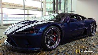 Download 2018 Falcon F7 1100hp Supercar - Walkaround - 2018 Detroit Auto Show Video