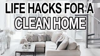 Download 10 LIFE HACKS FOR A CLEAN + ORGANIZED HOUSE! Video