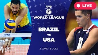 Download Brazil v USA - Group 1: 2017 FIVB Volleyball World League Video