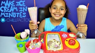 Download NEW Chill Factor Ice Cream Magic Tray - Milkshakes - Chocolate - Strawberries - Sprinkles Toppings Video
