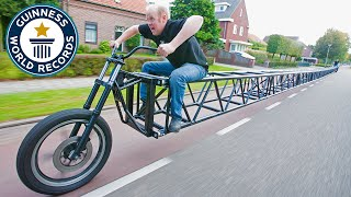 Download Longest bicycle - Guinness World Records Video