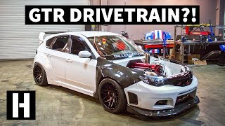 Download Skyline GTR Swapped Subaru WRX... and it's Still All Wheel Drive!? Video