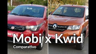 Download Renault Kwid chama Fiat Mobi para um desafio | Comparativo | Best Cars Video