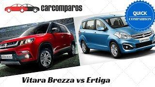 Download Vitara Brezza vs Ertiga Comparison Video