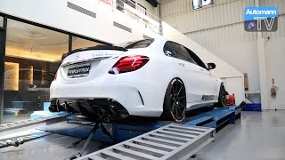 Download Mercedes-AMG C43 / C450 - Armytrix Exhaust DYNO RUN (60FPS) Video