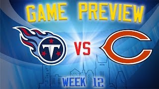 Download Titans vs Bears Rapid Preview // NFL Week 12 Video