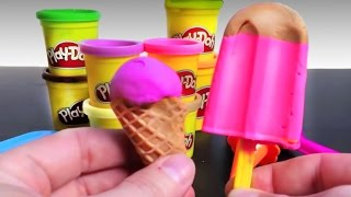 Download Play Doh Ice cream cupcakes playset playdough by Unboxingsurpriseegg New shorter version Video