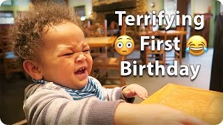 Download TERRIFYING 😳 FIRST 😂 BIRTHDAY!!! Video