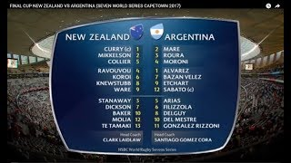 Download FINAL CUP NEW ZEALAND VS ARGENTINA (SEVEN WORLD SERIES CAPETOWN 2017) Video