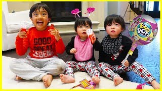 Download Kids Candy Surprise Valentine's Day Haul with Ryan's Family Review Video