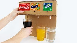 Download How to Make Coca Cola Soda Fountain Machine with 3 Different Drinks at Home Video
