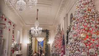 Download The White House unveils its Christmas decorations Video