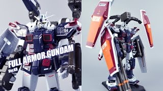 Download 【评头论足】BANDAI万代 MG 卡版 FA-78全装备高达 full armor gundam Ver.Ka gunpla review Video