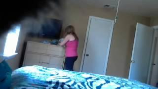 Download Roommate caught on hidden camera. Video