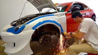 Download RIP TO MY BRZ   WIDEBODY INSTALL! Video
