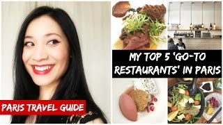Download MY 5 'GO-TO RESTAURANTS' IN PARIS / Top 5 casual eating places / PARIS TRAVEL GUIDE Video